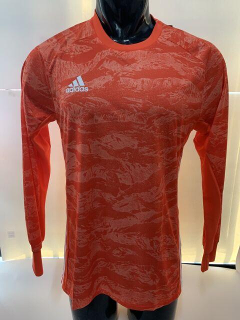 Mens adidas Goalkeeper Jersey Adipro 19 Solar Red DP3136 Size ...