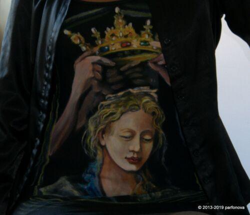 Unique Custom Made by Order T-Shirt Tops spring SS 2019 Exhibition Parfonova AYA