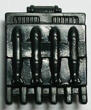 Lanard CORPS Military Vintage Accessory Backpack RPG Ammo Rack A Black