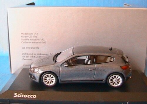 VW VOLKSWAGEN SCIROCCO 3 2.0 TSI GRIS METAL NOREV 1K8 099 300 R7K 1//43 2008