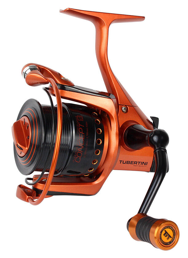FTM Tubertini Rolle Concept D 3500 und 5500 Annyversary Orange Edition