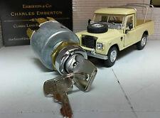 Land Rover Series 2 3 Lightweight Gen Lucas Petrol Ignition Switch & Keys 551508
