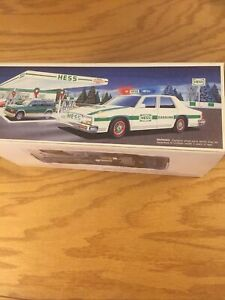 1993 Hess Truck Patrol Car In Original Box