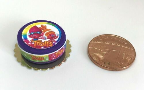 Dolls House Miniature  Trolls Cake DD072 Additional Items P/&P FREE