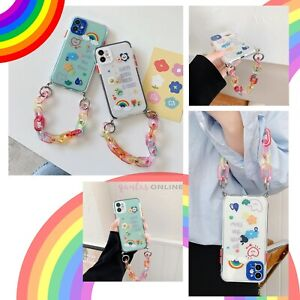 Rainbow Coloured Chain Case Cover For iPhone 11 12 MINI PRO MAX 8 XS XR SE 2020