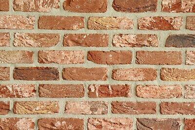 Baustoffe & Holz Fassade Nett Retro-handform-verblender Wdf Bh947 Rot-bunt Klinker Vormauersteine Verbraucher Zuerst