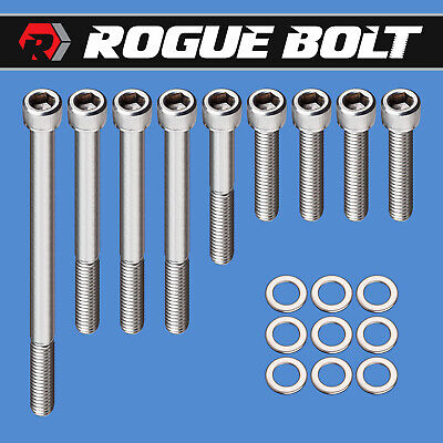 STAINLESS Inlet Intake Manifold Bolts Ford V8 SB Small Block Engine 260 289 302