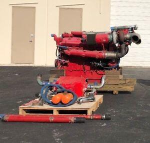 Detroit-Diesel-12V-71-TI-Marine-Diesel-Engine-675HP-12V-9-32L-12V71