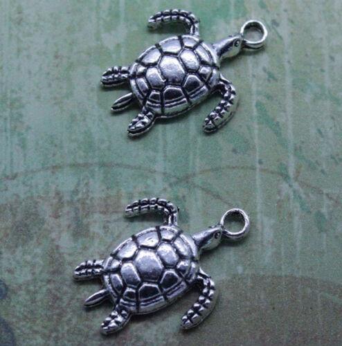 Cute tortoise alloy charm pendant style restoring ancient ways