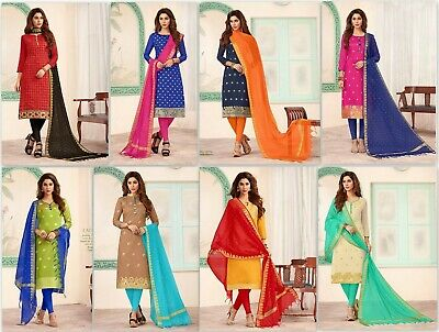 Pakistani Indian Salwar Suit Bollywood Designer Kameez Dress Wedding wear JM