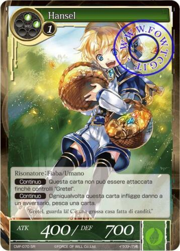 Hansel FoW Force of Will CMF070 SR EngItaJap