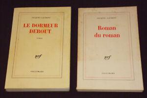 Set-of-2-Romans-of-Jacques-Laurent-the-Sleepy-Standing-Novel-the-Novel-2