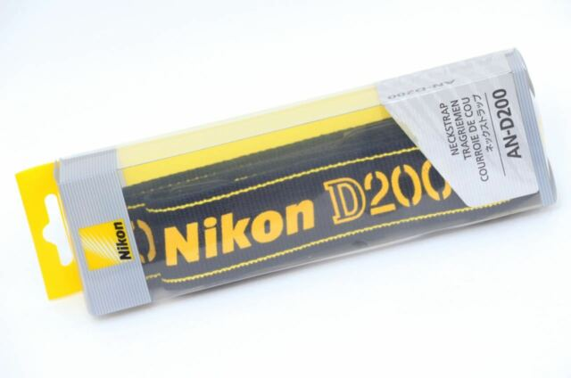 Brand-New in Box AN-D200 Genuine Nikon Camera Strap for D200 Camera Body