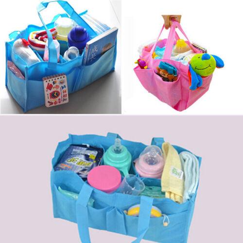 Practical Mother Handbag Baby Diaper Nappy Bag Milk Bottle Storage  OrganizerMA