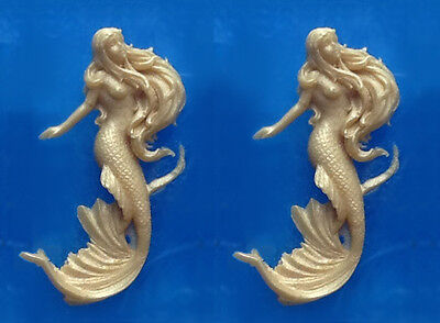 Sugarcraft Molds Polymer Clay Molds Cake Decorating Tools 1 Piece Mermaid mold