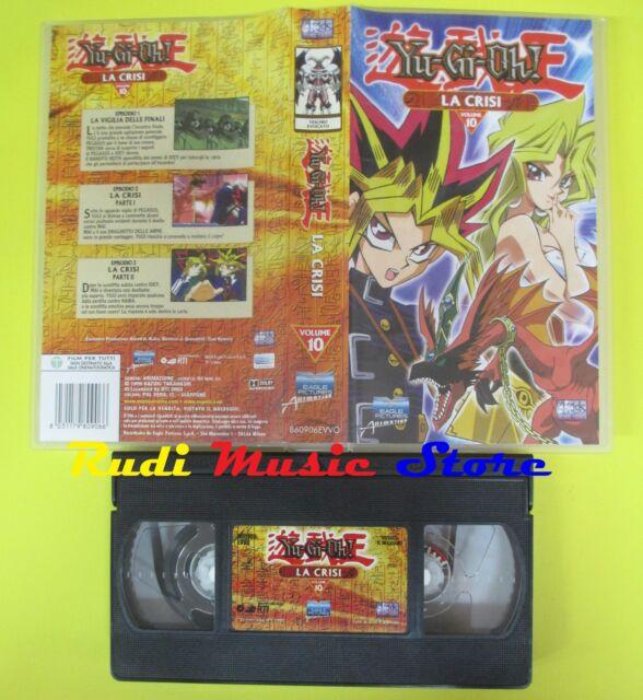 film VHS YU-GI-OH LA CRISI VOLUME 10 2004 EAGLE PICTURES 860906EVVO(F42)  no dvd
