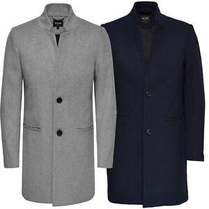 a10433c234 Dettagli su ONLY & SONS da Uomo Soprabito Trench Lana cappotto invernale  Max Taglia S a XL- mostra il titolo originale