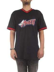 T-SHIRT-NEW-ERA-CAP-MAGLIA-11569562-MLB-COAST-2-COAST-MESH-BB-TEE-ANGELS-ANNANG