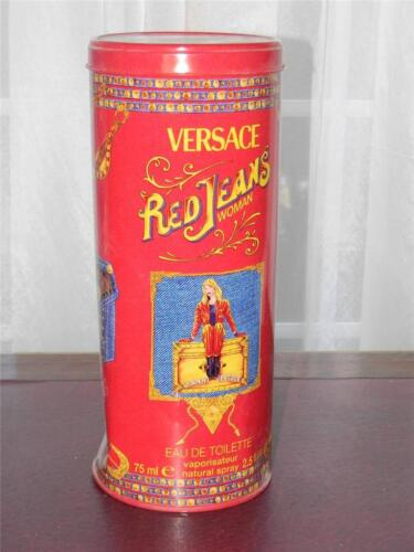 Versace Red Jeans Giant Tin Factice Dummy Display With Dent