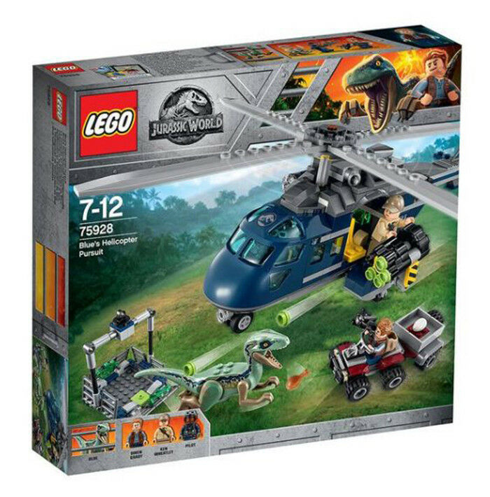 LEGO Jurassic World 75928 blu's Helicopter Pursuit  Nuovo Sealed