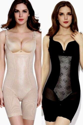 UK Ladies Best Plus Size Bodyshaper One Piece Magic Firm Control Bodysuit Girdle