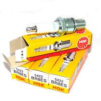 Ngk Br8es Spark Plugs Set Of 4 Threaded Terminal