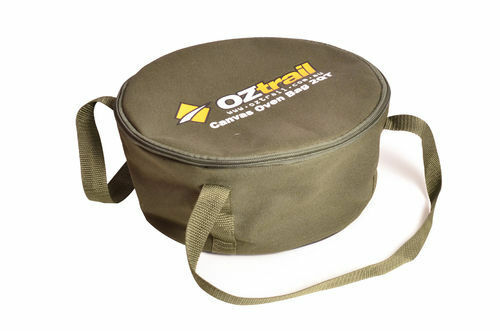 NEW OZtrail Canvas 2 Quart Camp Oven Carry Storage Bag