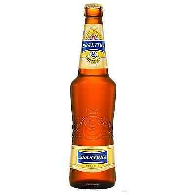 Baltika Baltika 8 Wheat Beer 470mL case of 20 International Beer
