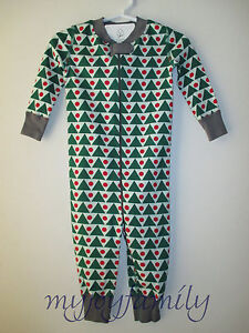 0bbfaec9c HANNA ANDERSSON Baby Organic Zip Sleeper Green Geo Triangles 50 0-6 ...