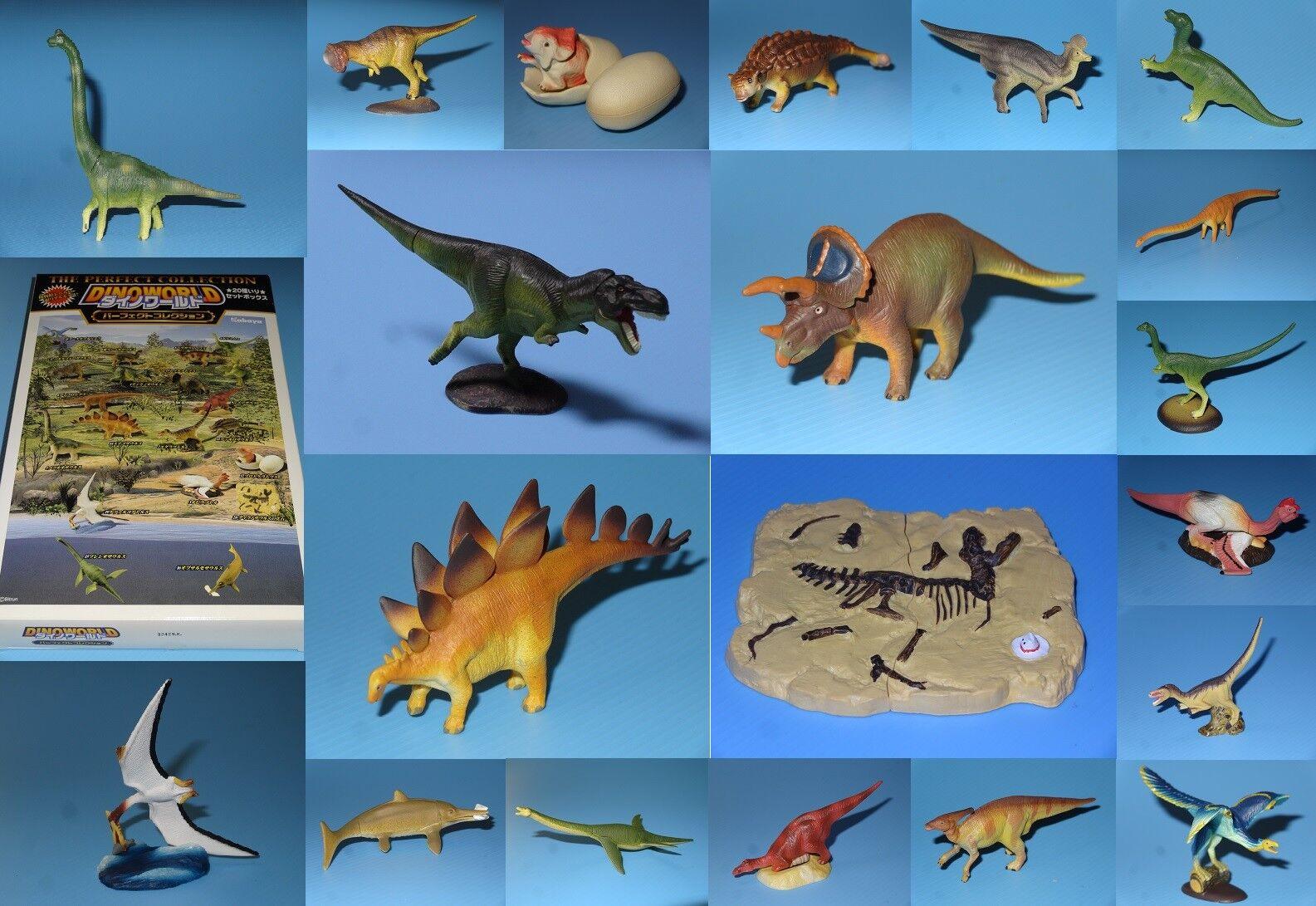 DINOWORLD Perfect Collection KABAYA Japan Dinosaur Figures Complete Set