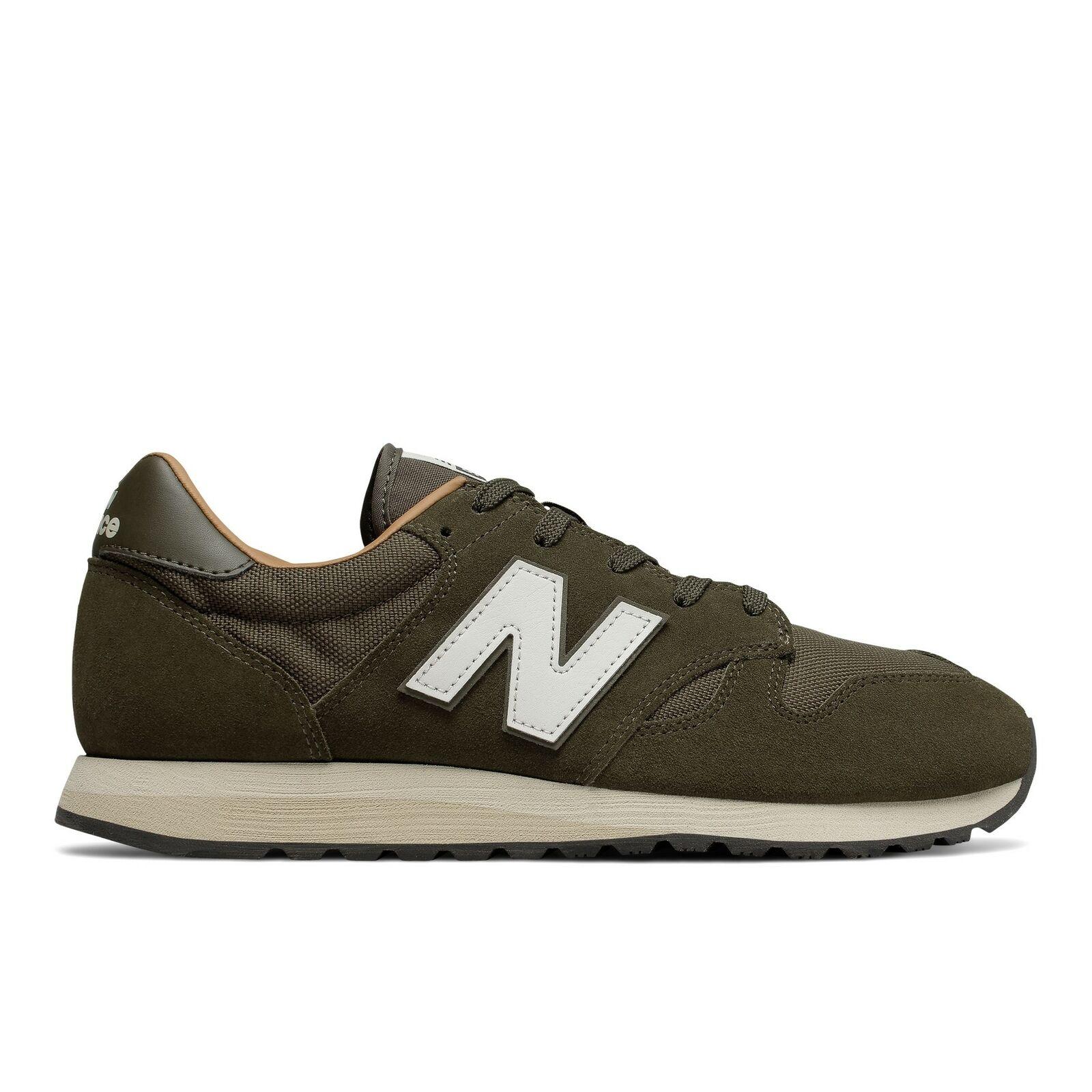 New Balance NB 520 Mens Lifestyle Lifestyle Lifestyle Sneakers shoes Green Khaki with White U520-BG 71fd72