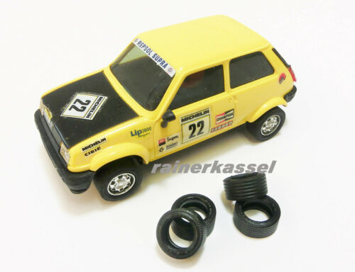 Scalextric Tires Repro Reifen für Renault R5 /&  Ford Fiesta Fahrzeuge
