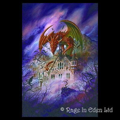 Schwarze Rose Fantasy Stab Magie Hexerei Deko Alchemy Zauberstab