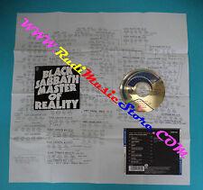 CD BLACK SABBATH Master of reality japan VERTIGO 23PD-135 (Xs6) no lp mc dvd
