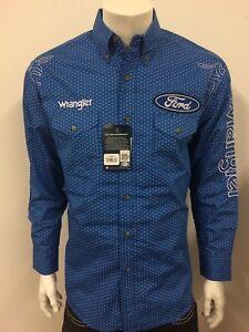 Wrangler Mens 20X Long Sleeve One Pocket Button Shirt