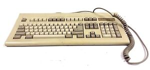 RARE Chicony E8H5IKKB-5161 Vintage CLICKY Mechanical Keyboard AT XT