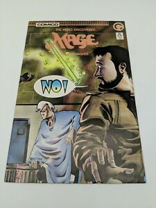 Mage The Hero Discovered #13 June 1986 Comico Key Issue Kevin Matchstick Origin
