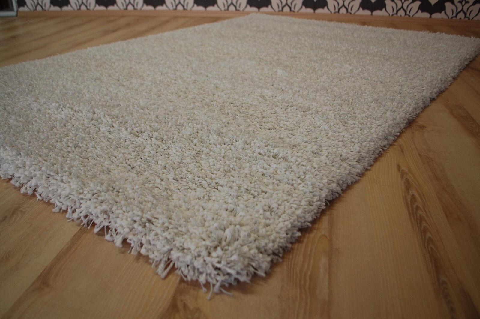 TAPPETO Lungo Flor 39001 Twilight 6600 Cotton 80x150 cm bianco