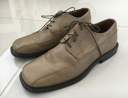 Florsheim Mens 'Tyne' Tan Leather Shoes Size 9.5 EE