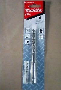 """New Drill Bit SDS Plus B-59184 Makita 1//4/"""" for metal"""