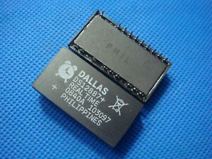 1PC-DALLAS-DS12887A-DIP-24-Real-Time-Clock-Chip-RAM-128-DS12887-DS12887-A120