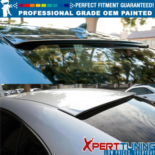 Fit 06-13 IS250 IS350 4Dr ISF Painted OE Style Roof Spoiler OEM Painted Color