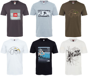 THE-NORTH-FACE-TNF-Celebration-Easy-Cotton-T-Shirt-Short-Sleeve-Tee-Mens-New
