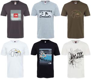 The-North-Face-TNF-celebracion-Facil-De-Algodon-Camiseta-De-Manga-Corta-Camiseta-Hombre-Nuevo
