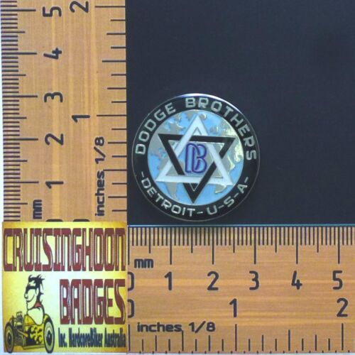 Badge Dodge Bros Detroit USA Quality Metal Lapel Pin