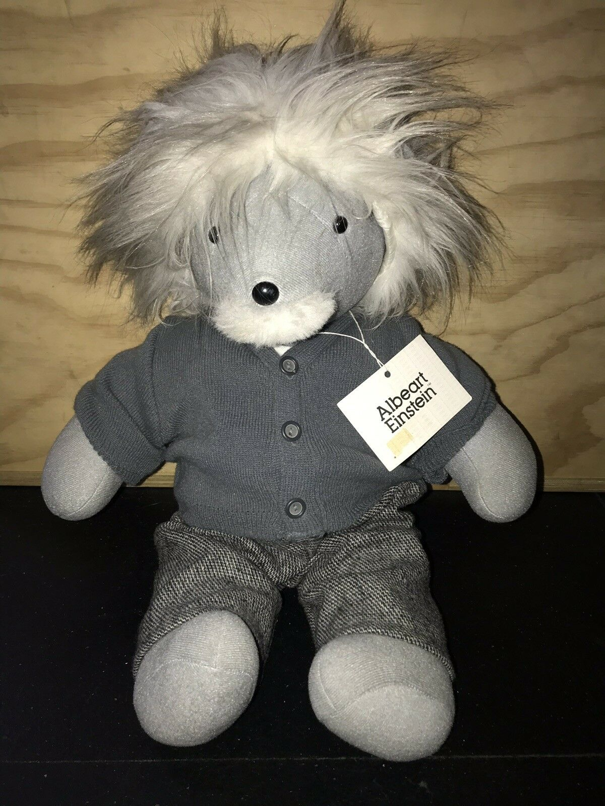 1986 North American Bear Company VIB Albeart Einstein 20  Teddy Bear NEW w  Tag