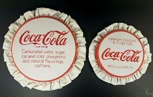 Vintage-Coca-Cola-White-and-Red-9-5-034-amp-7-25-034-Sewing-Embroidery-Pattern-Art-LOT