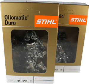 2 STIHL Sägeketten 3//8P-1,3-52 Picco Duro 3 Hartmetall für 35cm Dolmar