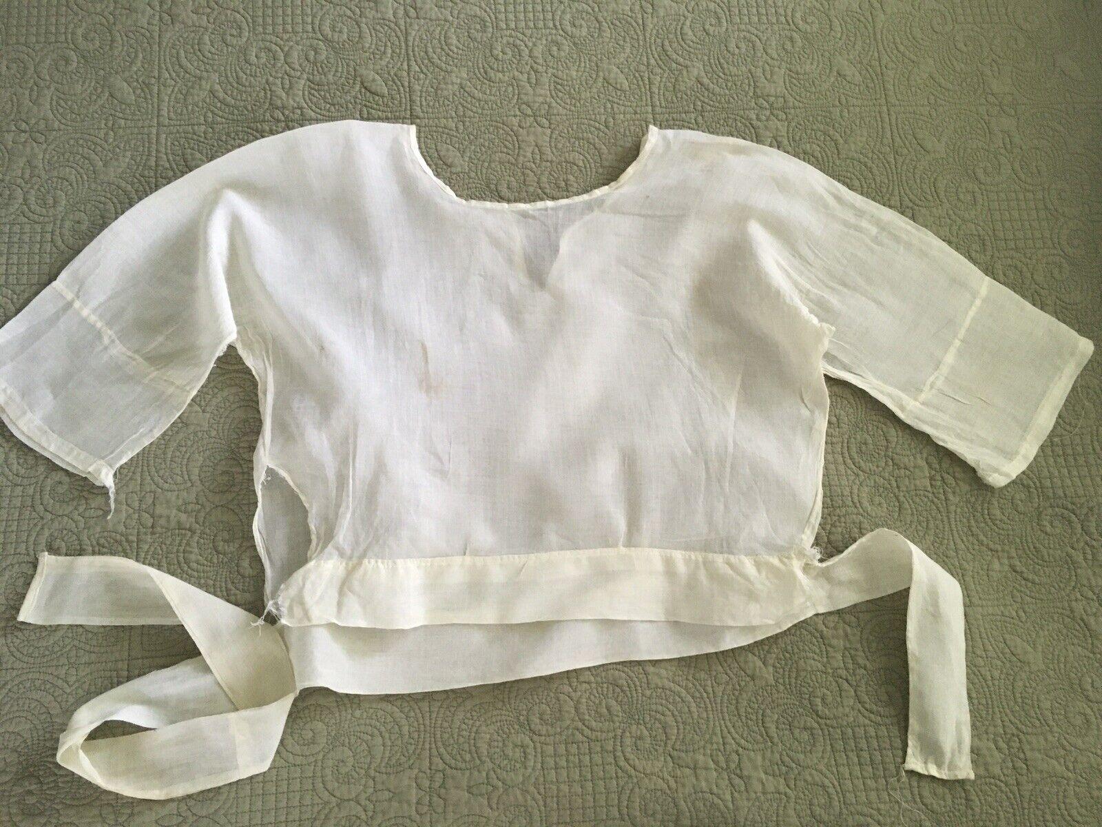 Antique Edwardian Victorian Shirtwaist Blouse - image 7