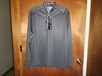 Roundtree & Yorke Performance 1/4 Zip Shirt Jacket Men's Athletic